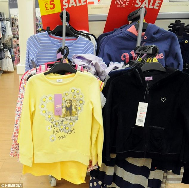 Surprised: 'I was only made aware of it when a girl in England who works at Tesco tagged me in a tweet on Twitter and said she had seen my face on one of the sweaters at her work,'  said the fashion student