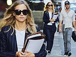Suki Waterhouse spotted with new boyfriend Aram Rappaport while running errands in the Tribeca neighborhood of NYC  Pictured: Suki Waterhouse, Aram Rappaport Ref: SPL1126453  140915   Picture by: J. Webber / Splash News  Splash News and Pictures Los Angeles: 310-821-2666 New York: 212-619-2666 London: 870-934-2666 photodesk@splashnews.com