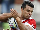 Rugby Union - Japan v Georgia - Kingsholm - 5/9/15  Craig Wing of Japan (C) in action  Action Images via Reuters / Ian Smith  Livepic