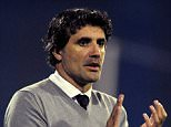 Dinamo Zagreb coach Zoran Mamic applauds on September 18, 2014 during a UEFA Europa League match GNK Dinamo Zagreb vs FC Astra Giurgiu at the Maksimir stadium in Zagreb. AFP PHOTO /STRINGER        (Photo credit should read -/AFP/Getty Images)