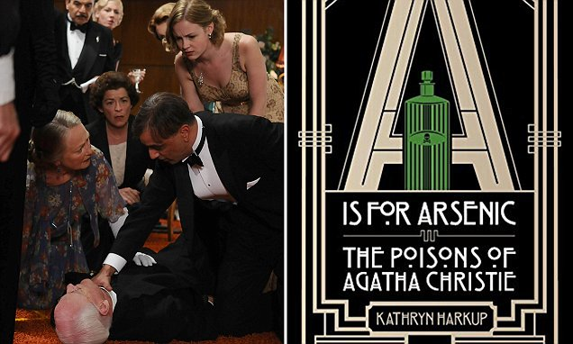 Kathryn Harkup studies the poisons Agatha Christie used to kill off characters