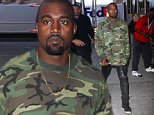 New York, NY - Kanye West goes camouflage and leather while out in New York for another business meeting in New York.  Kanye looks cool in a long sleeve camouflage shirt and torn black leather pants.\nAKM-GSI          August 14, 2015\nTo License These Photos, Please Contact :\nSteve Ginsburg\n(310) 505-8447\n(323) 423-9397\nsteve@akmgsi.com\nsales@akmgsi.com\nor\nMaria Buda\n(917) 242-1505\nmbuda@akmgsi.com\nginsburgspalyinc@gmail.com