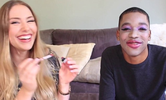 Stephanie Bailey gives Kodi Brown Kardashian contouring and a Kylie Jenner lip