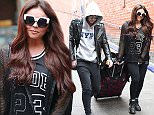 14 Sep 2015  - WILMSLOW  - UK *** EXCLUSIVE ALL ROUND PICTURES *** RIXTON SINGER JAKE ROCHE AND HIS FIANCEE LITTLE MIX STAR JESY NELSON ARE SEEN TOGETHER ARRIVING AT WILMSLOW TRAIN STATION IN CHESHIRE. JESY WAS SPORTING HER NEW ENGAGEMENT RING ON HER FINGER.  BYLINE MUST READ : XPOSUREPHOTOS.COM ***UK CLIENTS - PICTURES CONTAINING CHILDREN PLEASE PIXELATE FACE PRIOR TO PUBLICATION *** **UK CLIENTS MUST CALL PRIOR TO TV OR ONLINE USAGE PLEASE TELEPHONE  442083442007