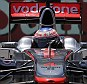 Raring to go: Jenson Button in qualifying