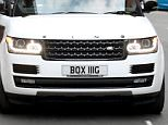 Picture Shows: Amir Khan  September 09, 2015    Boxer Amir Khan spotted showing off his new license plate on a trip to a Skin Health Spa in Manchester, England.     The boxer drew attention with his customised Range Rover with the personalised license plate that said 'BOX IIIG' and 'K I N G' above the grill of the vehicle.     Amir spent 2 and a half hours at the spa getting his teeth whitened a couple of other treatments.     Exclusive All Rounder  WORLDWIDE RIGHTS  FameFlynet UK © 2015  Tel : +44 (0)20 3551 5049  Email : info@fameflynet.uk.com