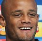 Manchester City's Vincent Kompany during the Champions League press conference held at the Manchester City First Team Academy, Manchester