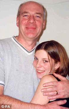 Privacy: Suzanne Moore says the treatment of Bob Dowler during court proceedings (pictured here with Milly) was a disgrace