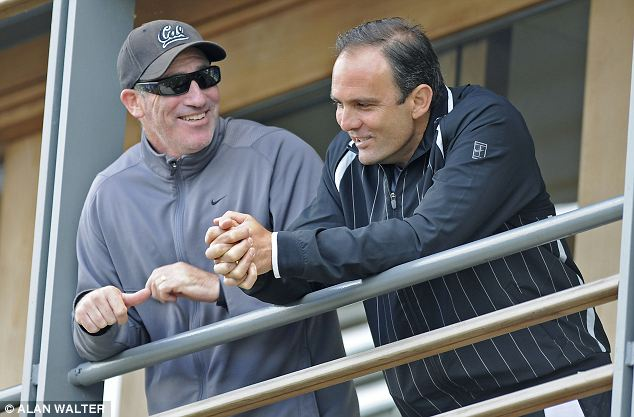 Come and gone: Coaches Gilbert and Annacone