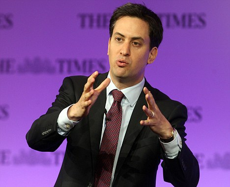 Credit: Ed Miliband has come out fighting of late when questions have been asked about his shadow cabinet