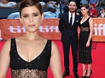 """TORONTO, ON - SEPTEMBER 15:  Actor Shia LaBeouf (L) and actress Kate Mara attend the """"Man Down"""" premiere during the 2015 Toronto International Film Festival at the Roy Thomson Hall on September 15, 2015 in Toronto, Canada.  (Photo by Amanda Edwards/WireImage)"""