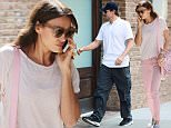 Irina Shayk Bradley Cooper walk in hotel separately i Tribeca New York September 15, 2015\n\nPictured: Bradley Cooper\nRef: SPL1126353  150915  \nPicture by: NIGNY / Splash News\n\nSplash News and Pictures\nLos Angeles: 310-821-2666\nNew York: 212-619-2666\nLondon: 870-934-2666\nphotodesk@splashnews.com\n