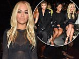 Mandatory Credit: Photo by Steve Eichner/WWD/REX Shutterstock (5081506b).. Rita Ora.. Vera Wang show, Spring Summer 2016, New York Fashion Week, America - 15 Sep 2015.. ..