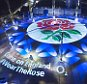 In a world first, O2 has handed over the roof of The O2  for fans to tweet messages of support for England Rugby using #WearTheRose PRESS ASSOCIATION Photo. Picture date: Monday September 14, 2015. Photo credit should read: Anthony Devlin/PA Wire