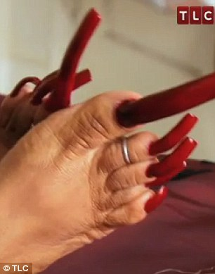 Ayanna spends up to $200 a week on mani-pedis
