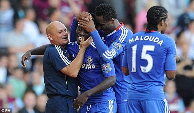 Case for the defence: Ray Wilkins claims the Chelsea players were an absolute delight to work with