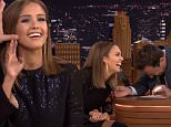 The Tonight Show with Jimmy Fallon September 14, 2015\nActors Benicio Del Toro and Jessica Alba visit with Jimmy. Miguel performs as musical guest.\nAfter Jay Leno's retirement from the show, Jimmy Fallon stepped in as his permanent replacement and has moved the show back to New York City. The format of the show has remained largely unchanged, consisting primarily of an opening humorous monologue, followed by several celebrity interviews, comedy sketches and musical number\n