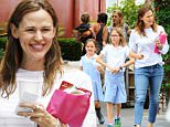 Picture Shows: Seraphina Affleck, Violet Affleck, Jennifer Garner  September 15, 2015\\n \\n Newly single actress Jennifer Garner is spotted leaving the Brentwood Country Mart in Brentwood, California with her daughters Seraphina and Violet. Jennifer seems to be in good spirits.\\n \\n Non Exclusive\\n UK RIGHTS ONLY\\n \\n Pictures by : FameFlynet UK © 2015\\n Tel : +44 (0)20 3551 5049\\n Email : info@fameflynet.uk.com