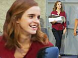 Los Angeles, CA - Emma Watson wraps up another work's day filming her new project 'The Circle' with co-star Tom Hanks (not pictured) on location.\nAKM-GSI        September  15, 2015\nTo License These Photos, Please Contact :\nSteve Ginsburg\n(310) 505-8447\n(323) 423-9397\nsteve@akmgsi.com\nsales@akmgsi.com\nor\nMaria Buda\n(917) 242-1505\nmbuda@akmgsi.com\nginsburgspalyinc@gmail.com
