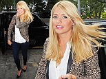 15.SEPTEMBER.2015 - LONDON - UK\n**EXCLUSIVE ALL ROUND PICTURES**\nA HAPPY LOOKING THIS MORNING PRESENTER HOLLY WILLOUGHBY ARRIVING AT THE SCOTTS RESTAURANT JOINED BY HER HUSBAND DANIEL BALDWIN AND A FRIEND ON A GLOOMY DAY IN LONDON  \nBYLINE MUST READ : XPOSUREPHOTOS.COM\n***UK CLIENTS - PICTURES CONTAINING CHILDREN PLEASE PIXELATE FACE PRIOR TO PUBLICATION***\nUK CLIENTS MUST CALL PRIOR TO TV OR ONLINE USAGE PLEASE TELEPHONE 0208 344 2007