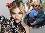 http://www.marieclaire.com/celebrity/a15815/sienna-miller-october-2015-cover/\n\nOn her second project, Burnt, with Bradley Cooper: ?Best friends ? we laugh a lot; he is loyal and kind and has no concept of his own brilliance.? \nOn working with Clint Eastwood for American Sniper: ?He made us feel we were a little family; he shot the movie in 40 days, with no rehearsal. He knows what he wants?I learned to be a bit more prepared and that I had to bring it in one or two takes. Before one scene, he whispered that day?s death toll in Iraq to me. He understood that I get neurotic, I overthink, that sometimes I?m in my head and not in the moment, which sounds very pretentious, but he dissipated the tension.?\nOn being followed by paparazzi and getting an injunction against Big Pictures: ?The paparazzi sat outside my home in London, and everywhere I went, I was followed by 12 cars. It wasn?t even safe to take my sister Savannah?s kids out. My whole life was documented and manipulated. I thou
