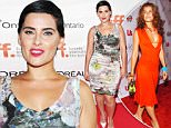 """TORONTO, ON - SEPTEMBER 14:  Artist Nelly Furtado attends the """"Hyena Road"""" premiere during the 2015 Toronto International Film Festival at Roy Thomson Hall on September 14, 2015 in Toronto, Canada.  (Photo by Alberto E. Rodriguez/Getty Images)"""