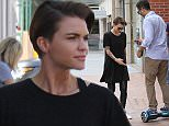 Orange is the New Black breakout star Ruby Rose  out and about in Beverly Hills..Featuring: Ruby Rose..Where: Los Angeles, California, United States..When: 15 Sep 2015..Credit: WENN.com