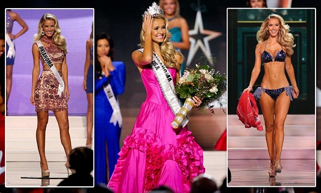 Miss Oklahoma crowned Miss USA in 64th-annual contest, beating out 50 other women for