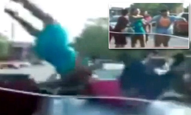 Video shows women sent flying during hit-and-run in St. Louis street