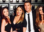 Ronaldo on fragrance launch