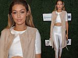 September 15, 2015: Gigi Hadid at Serena Williams Signature Collection By HSN show at NYFW in New York City.\nMandatory Credit: Kristin Callahan/ACE/INFphoto.com  Ref: infusny-220