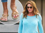 Woodland Hills, CA - Caitlyn Jenner goes out to lunch at Jerry's Famous Deli in Woodland Hills. Caitlyn wore a aqua blue sweater with blue denim skinnies and sandals as she returned to her car after a bite.\nAKM-GSI        September 15, 2015\nTo License These Photos, Please Contact :\nSteve Ginsburg\n(310) 505-8447\n(323) 423-9397\nsteve@akmgsi.com\nsales@akmgsi.com\nor\nMaria Buda\n(917) 242-1505\nmbuda@akmgsi.com\nginsburgspalyinc@gmail.com