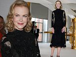 """16 set 2015 - MILAN - ITALY  *** NOT AVAILABLE FOR ITALY ***  NICOLE KIDMAN ATTENDS OMEGA """"HER TIME"""" VERNISSAGE IN MILAN   BYLINE MUST READ : XPOSUREPHOTOS.COM  ***UK CLIENTS - PICTURES CONTAINING CHILDREN PLEASE PIXELATE FACE PRIOR TO PUBLICATION ***  **UK CLIENTS MUST CALL PRIOR TO TV OR ONLINE USAGE PLEASE TELEPHONE 44 208 344 2007**"""
