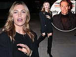 Abby Clancy and Peter Crouch leaving the Isle of Wight Reunion Gig 2015 at KOKO in London\n\nPictured: Abby Clancy ,\nRef: SPL1126589  150915  \nPicture by: Splash News\n\nSplash News and Pictures\nLos Angeles: 310-821-2666\nNew York: 212-619-2666\nLondon: 870-934-2666\nphotodesk@splashnews.com\n