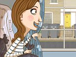 FLY TIPPING MAMMA daytime   illo - ANDY WARD