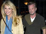 Picture Shows: Christie Brinkley, John Mellencamp  September 14, 2015    Model Christie Brinkley and rocker John Mellencamp are spotted out for dinner at The Bowery Hotel in New York City, New York.    Exclusive All Rounder  UK RIGHTS ONLY  FameFlynet UK © 2015  Tel : +44 (0)20 3551 5049  Email : info@fameflynet.uk.com