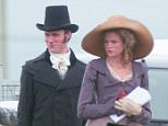 EXCLUSIVE: New cast member, Gabriella Wilde and Hugh Skinner on set in Poldark, Cornwall, UK  Pictured: Gabriella Wilde and Hugh Skinner Ref: SPL1127002  150915   EXCLUSIVE Picture by: MK / Splash News  Splash News and Pictures Los Angeles: 310-821-2666 New York: 212-619-2666 London: 870-934-2666 photodesk@splashnews.com