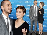 "TORONTO, ON - SEPTEMBER 15:  Shia LaBeouf (L) and Kate Mara attend the ""Man Down"" press conference photo call during 2015 Toronto International Film Festival held at TIFF Bell Lightbox on September 15, 2015 in Toronto, Canada.  (Photo by Michael Tran/FilmMagic)"