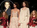 16th September 2015\nEmpire Rose - Telstra Perth Fashion Festival at Fashion Paramount, Perth Concert Hall in Perth, Western Australia\n\nPictured: Niece's of the late Heath Ledger - Rorie and Scarlett Ledger with models\nRef: SPL1127132  160915  \nPicture by: Splash News\n\nSplash News and Pictures\nLos Angeles: 310-821-2666\nNew York: 212-619-2666\nLondon: 870-934-2666\nphotodesk@splashnews.com\n