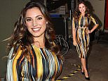 Celebrity Juice guests and captain's for this weeks show that airs Thursday (September 17th) ITV2 at 10pm\nGino D'Acampo, Holly Willoughby, Kelly Brook, Hayley Tamaddon, Louis Walsh, Keith Lemon and Jimmy Car\n\nPictured: Kelly Brook\nRef: SPL1120910  160915  \nPicture by: Stuart Atkins / Splash News\n\nSplash News and Pictures\nLos Angeles: 310-821-2666\nNew York: 212-619-2666\nLondon: 870-934-2666\nphotodesk@splashnews.com\n