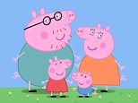 """""""PEPPA PIG"""", new animated series. Peppa muddy puddles.  FAMILY.   Licenced by CHANNEL 5 BROADCASTING. Five Stills: 0207 550 5509.  Free for editorial press and listings use in connection with the current broadcast of Channel 5 programmes only.  This Image may only be reproduced with the prior written consent of Channel 5.  Not for any form of advertising, internet use or in connection with the sale of any product.  CHILDRENS PRE-SCHOOL ASTLEY BAKER DAVIES LTD"""