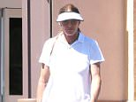 Calabasas, CA - Caitlyn Jenner out running errands looking ready for tennis in a white visor, white collared shirt and dark pink skirt and white tennis shoes. AKM-GSI          September 17, 2015 To License These Photos, Please Contact : Steve Ginsburg (310) 505-8447 (323) 423-9397 steve@akmgsi.com sales@akmgsi.com or Maria Buda (917) 242-1505 mbuda@akmgsi.com ginsburgspalyinc@gmail.com