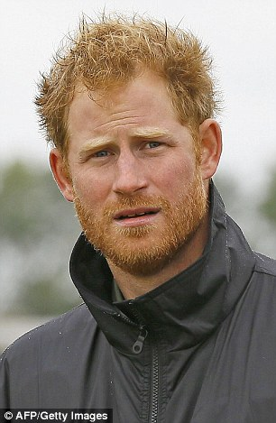 Prince Harry (pictured in Goodwood, Sussex, yesterday) spent his 31st birthday with his ex-girlfriend Cressida Bonas, the day it emerged she had split with her latest boyfriend