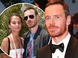 """CANNES, FRANCE - MAY 23:  Actor Michael Fassbender leaves the """"Macbeth"""" Premiere during the 68th annual Cannes Film Festival on May 23, 2015 in Cannes, France.  (Photo by Gisela Schober/Getty Images)"""