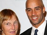 """NEW YORK, NY - SEPTEMBER 07:  Betty Blake and her son James Blake attend the International Hall Of Fame """"Legends Ball 2012"""" at Cipriani 42nd Street on September 7, 2012 in New York City.  (Photo by Charles Norfleet/Getty Images)"""