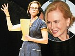 """Nicole Kidman seen on her first night back in theatre starring in """"Photograph 51"""" at the Noel Coward theatre this evening. ....Pictured: Nicole Kidman..Ref: SPL1116269  050915  ..Picture by: Ben / Jesal / Splash News....Splash News and Pictures..Los Angeles: 310-821-2666..New York: 212-619-2666..London: 870-934-2666..photodesk@splashnews.com.."""