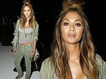 Mandatory Credit: Photo by George Chinsee/WWD/REX Shutterstock (5083890i)\n Nicole Scherzinger\n Greg Lauren show, Spring Summer 2016, New York Fashion Week, America - 16 Sep 2015\n \n