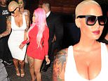 West Hollywood, CA - Amber Rose and Blac Chyna hold hands as they leave 1OAK Nightclub following Travis Scott's live performance. The BFF's showed off their curves in skintight white and red dresses.\nAKM-GSI         September 15, 2015\nTo License These Photos, Please Contact :\nSteve Ginsburg\n(310) 505-8447\n(323) 423-9397\nsteve@akmgsi.com\nsales@akmgsi.com\nor\nMaria Buda\n(917) 242-1505\nmbuda@akmgsi.com\nginsburgspalyinc@gmail.com