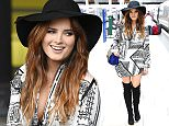 14 Sep 2015 - MANCHESTER - UK\nMADE IN CHELSEA STAR ALEXANDRA 'BINKY' FELSTEAD IS  SEEN ARRVING IN MANCHESTER TO ATTEND VARIOUS MEETINGS AND A PLANNED PHOTOSHOOT\nBYLINE MUST READ : XPOSUREPHOTOS.COM\n***UK CLIENTS - PICTURES CONTAINING CHILDREN PLEASE PIXELATE FACE PRIOR TO PUBLICATION ***\n**UK CLIENTS MUST CALL PRIOR TO TV OR ONLINE USAGE PLEASE TELEPHONE   44 208 344 2007 **