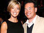 """NEW YORK - APRIL 2: Television personalities Kate Gosselin (L) and Jon Gosselin of TLC's """"Jon & Kate Plus 8"""" attend Discovery Upfront at Jazz at Lincoln Center April 2, 2009 in New York City.  (Photo by Amy Sussman/WireImage for Discovery Communications) *** Local Caption *** Kate Gosselin;Jonathan Gosselin"""